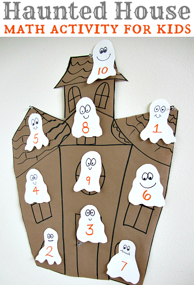 Haunted House Math Haunted House Math Activity